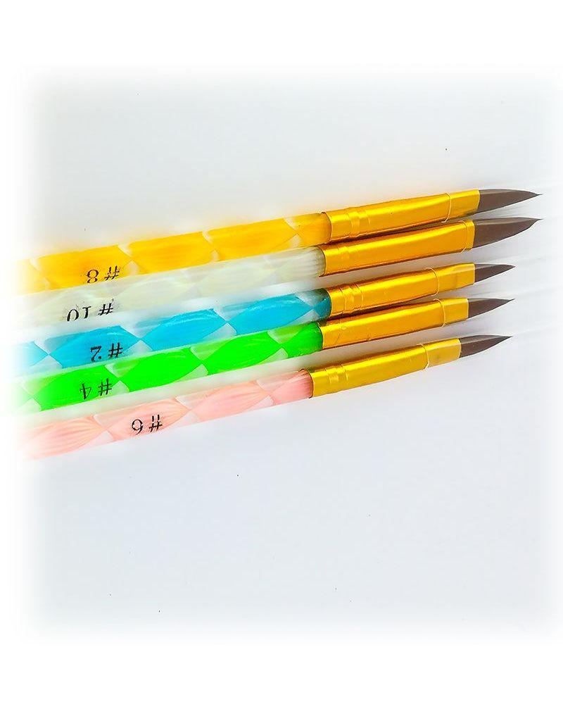 Pinceau acrylique pour ongles