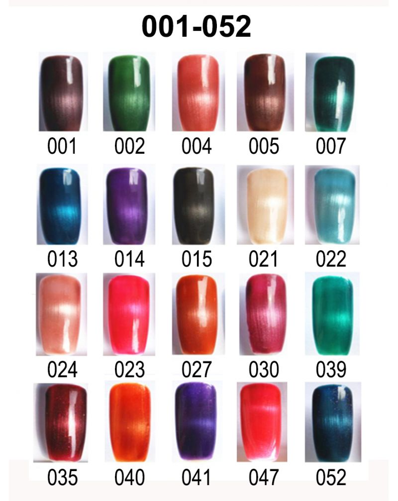 Vernis semi permanent a ongles Cat Eye Serie