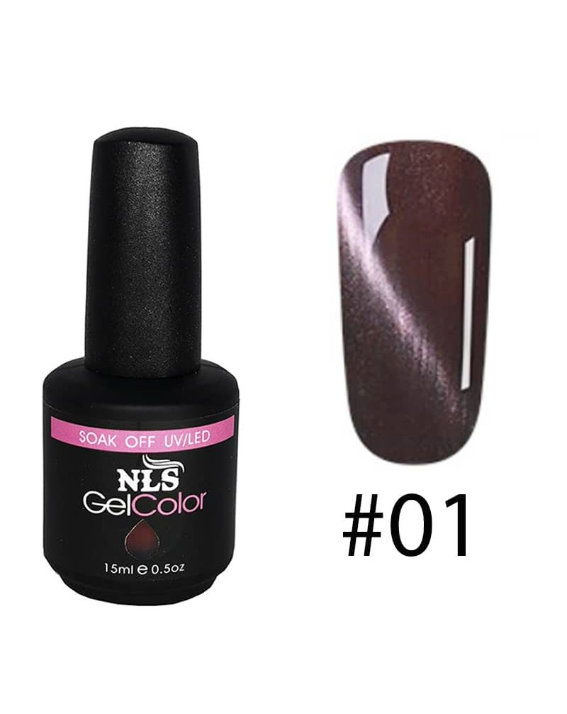 Vernis semi permanent a ongles Cat Eye Serie #01