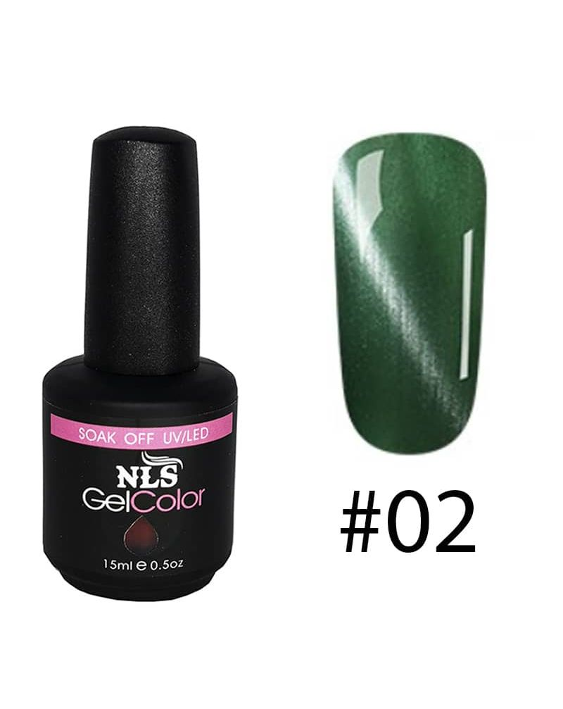 Vernis semi permanent a ongles Cat Eye Serie #02