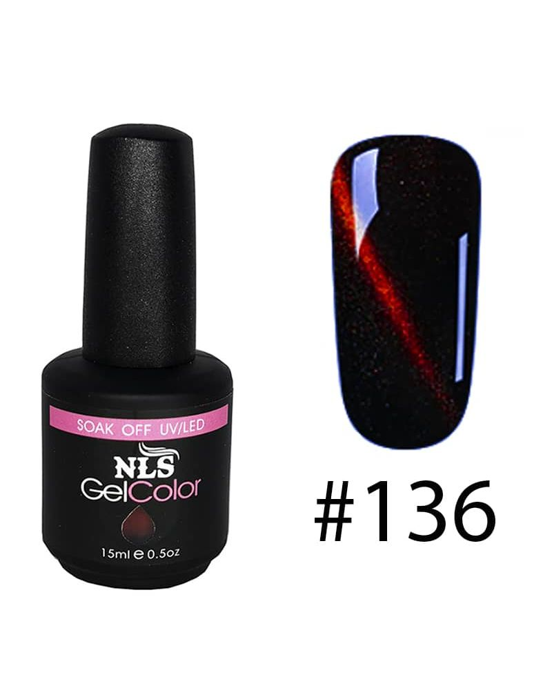 Vernis semi permanent a ongles Cat Eye Serie #136