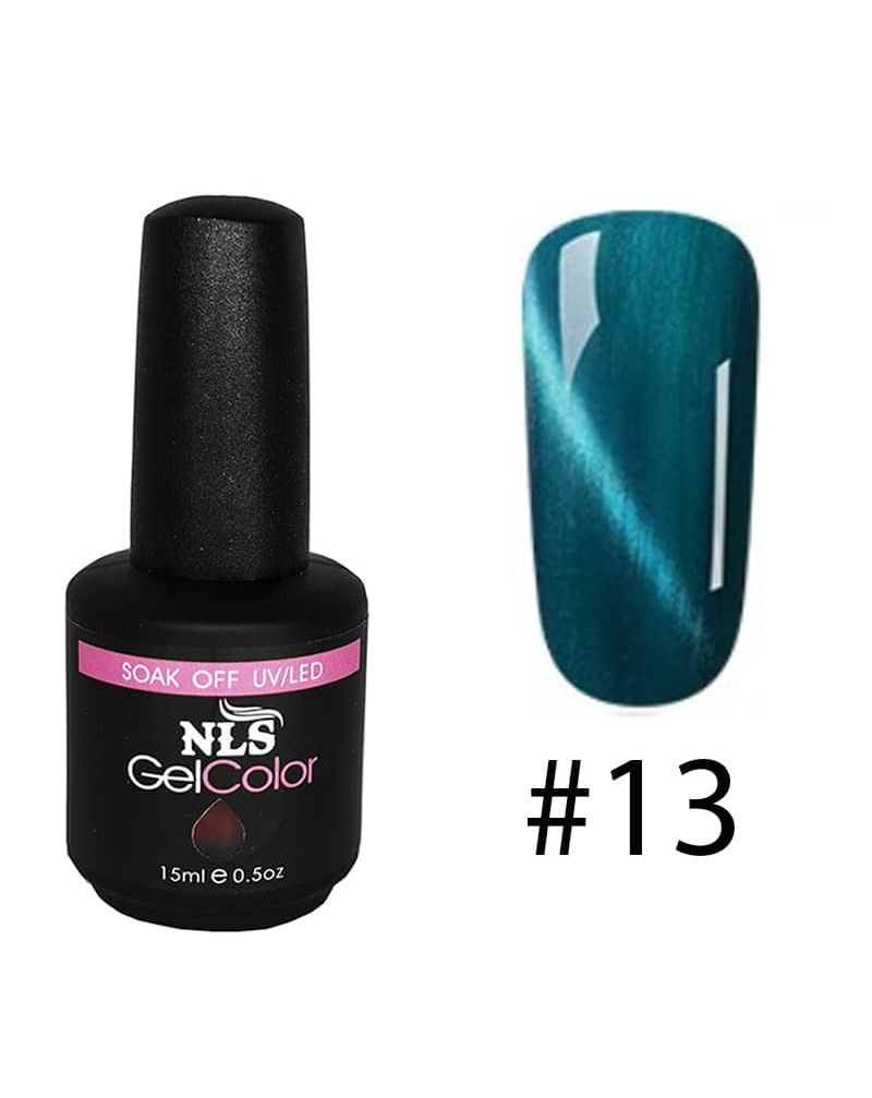Vernis semi permanent a ongles Cat Eye Serie #13