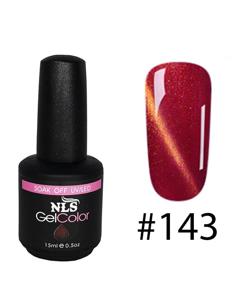 Vernis semi permanent a ongles Cat Eye Serie #143