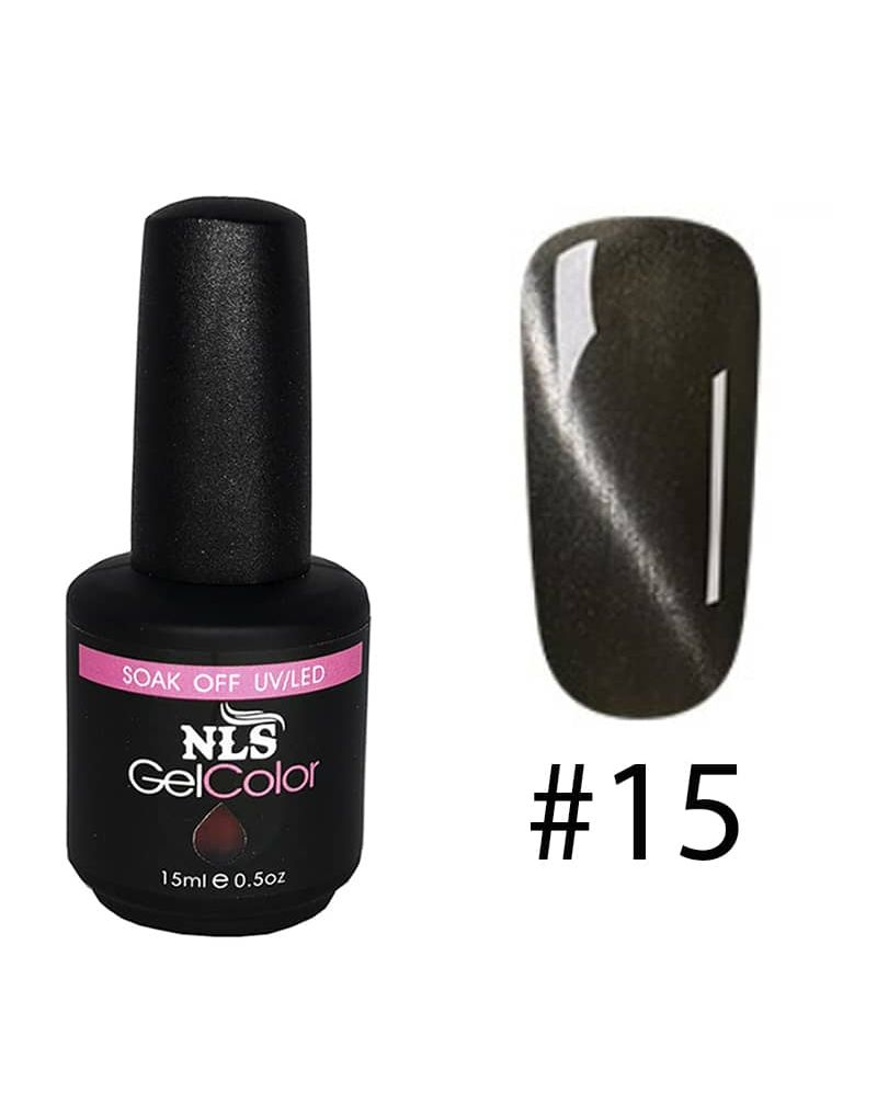 Vernis semi permanent a ongles Cat Eye Serie #15