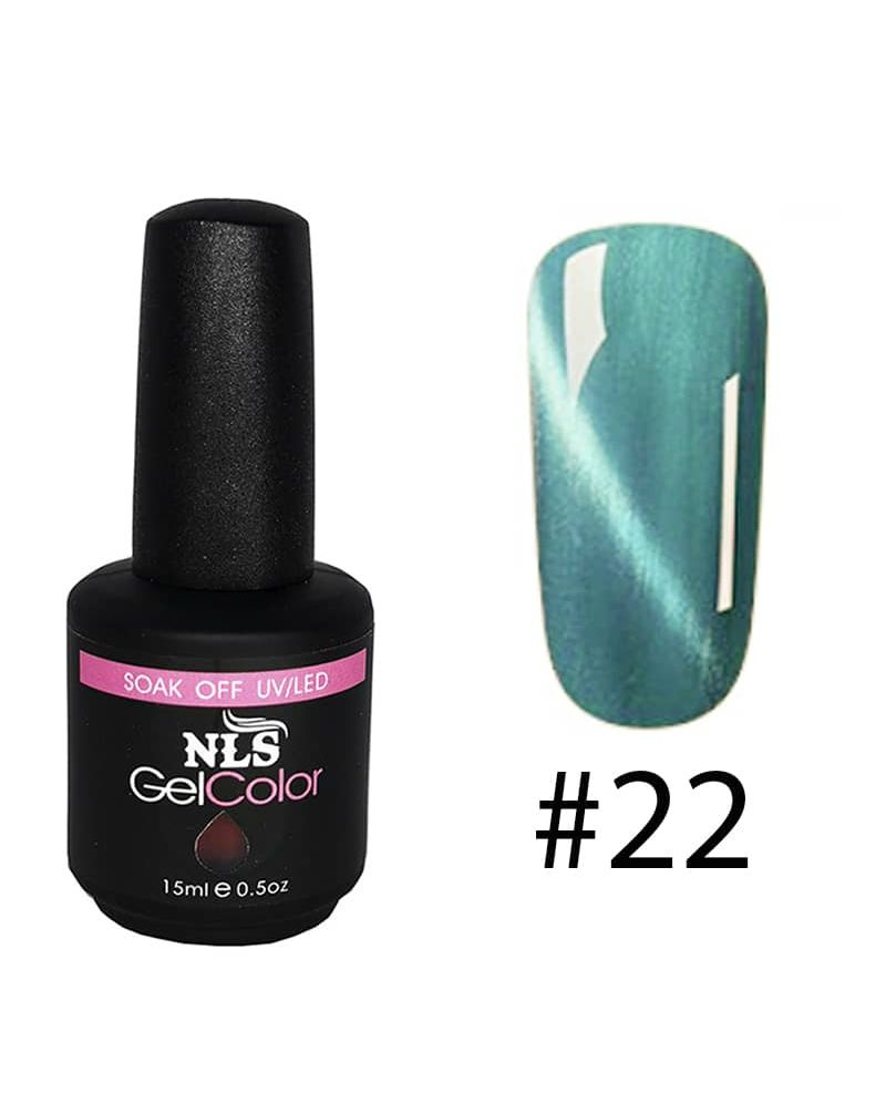 Vernis semi permanent a ongles Cat Eye Serie #22