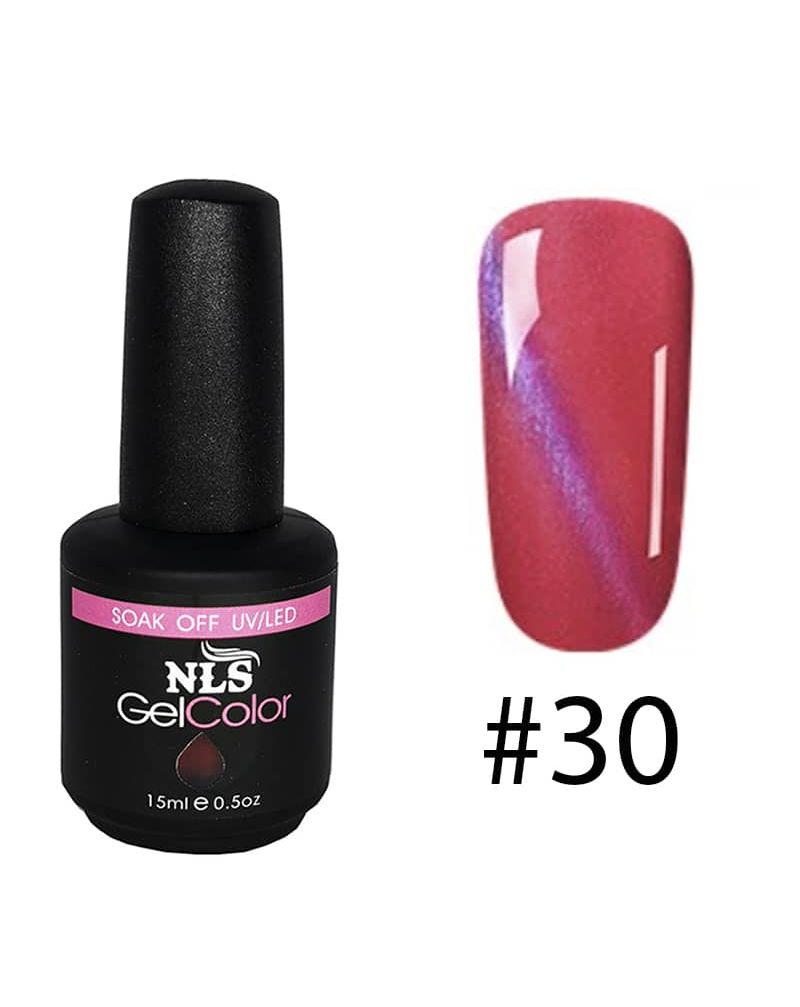 Vernis semi permanent a ongles Cat Eye Serie #30