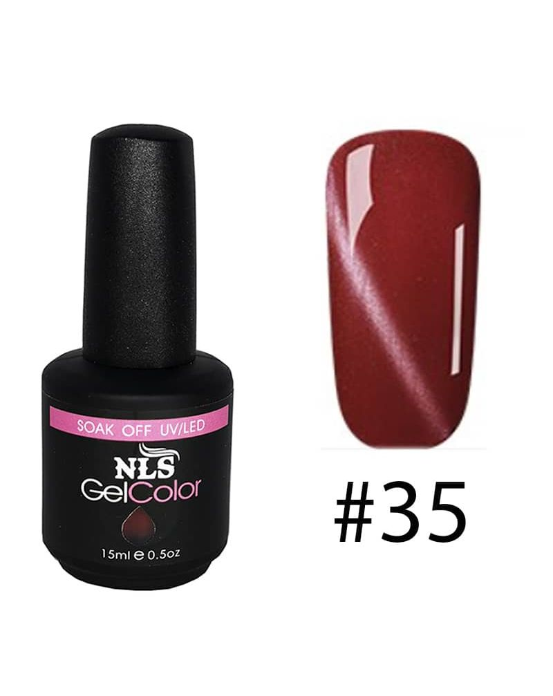 Vernis semi permanent a ongles Cat Eye Serie #35