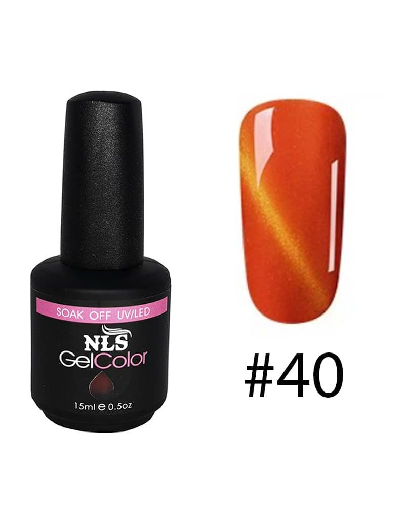 Vernis semi permanent a ongles Cat Eye Serie #40
