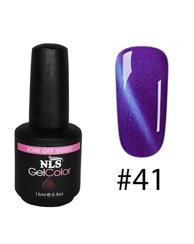 Vernis semi permanent a ongles Cat Eye Serie #41