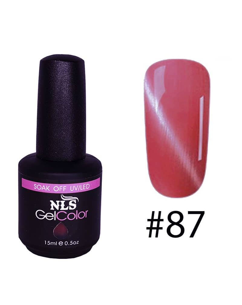 Vernis semi permanent a ongles Cat Eye Serie #87