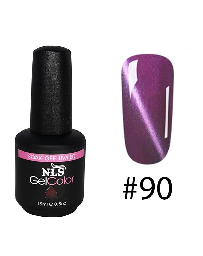 Vernis semi permanent a ongles Cat Eye Serie #90