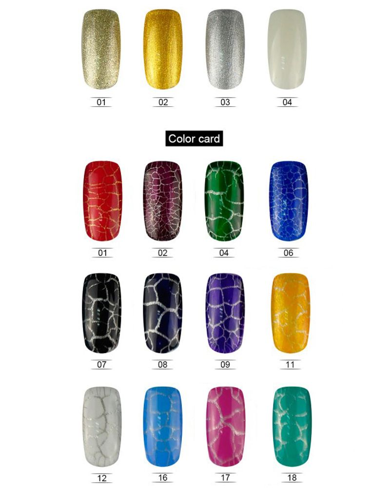 Vernis semi permanent Crack serie