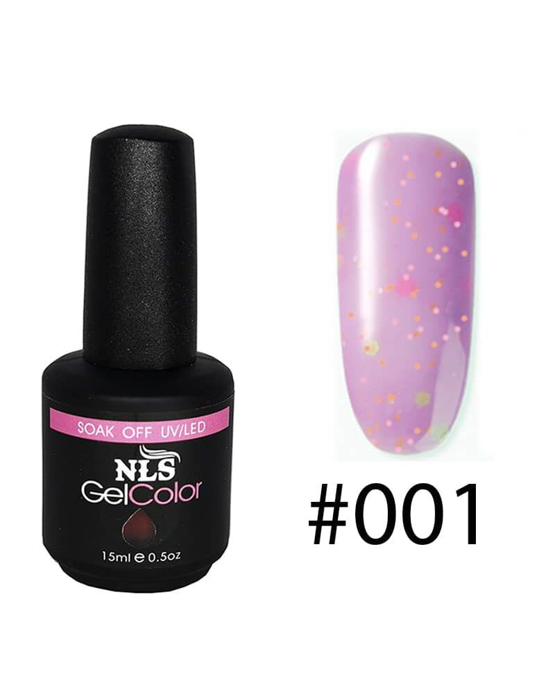 Vernis a ongles semi permanent Cream serie #001
