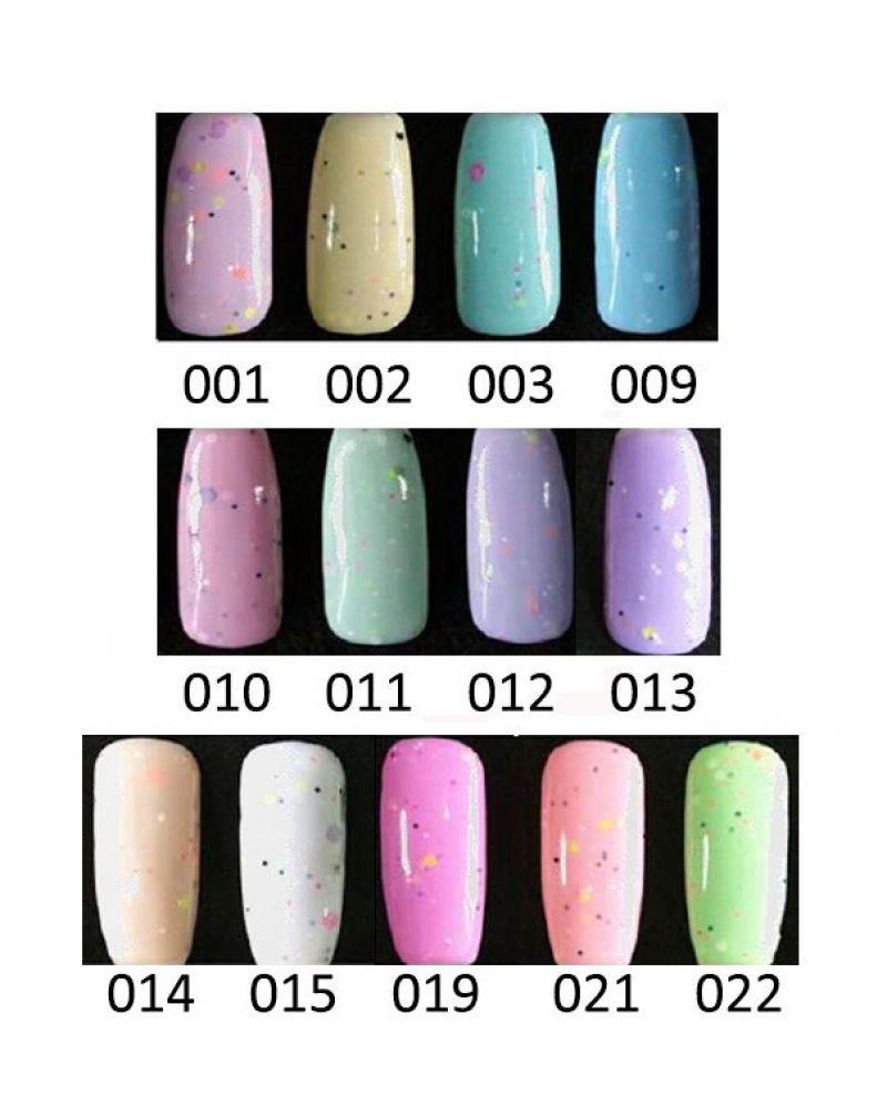 Vernis a ongles semi permanent Cream serie