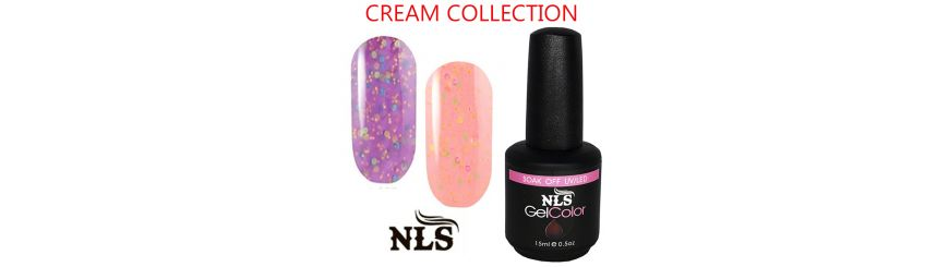 Vernis semi permanent Cream serie
