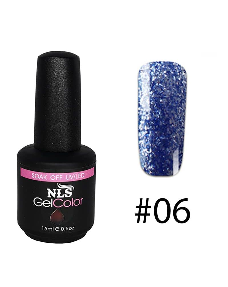 Vernis a ongles semi permanent Diamant serie #06