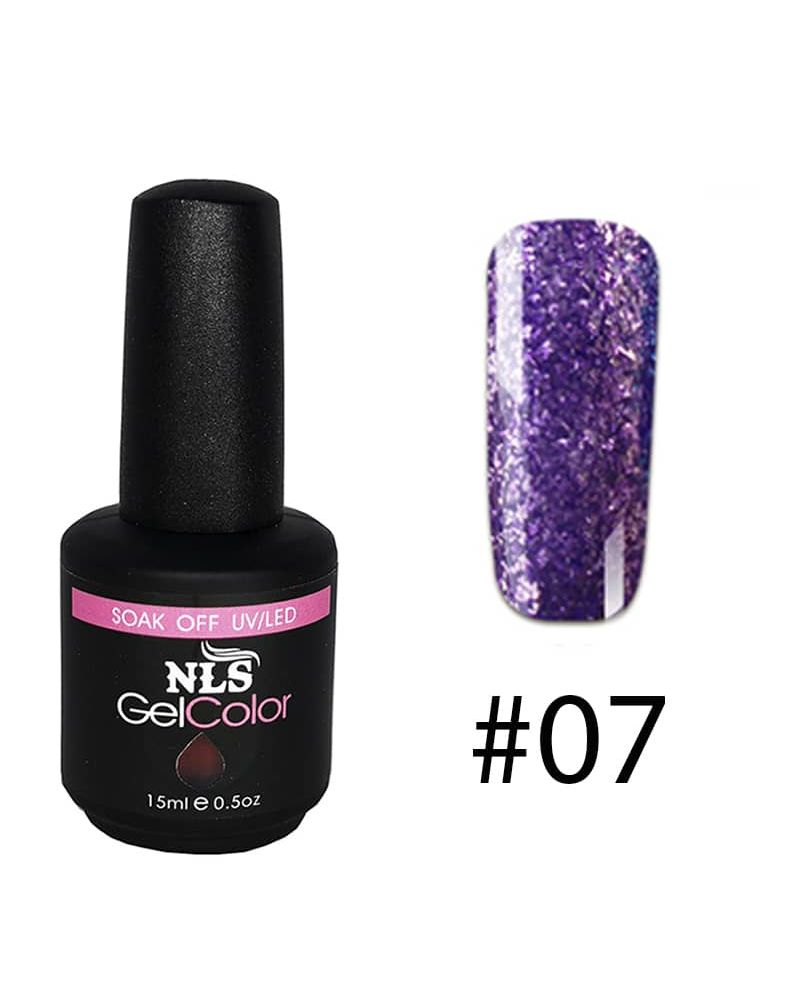 Vernis a ongles semi permanent Diamant serie #07