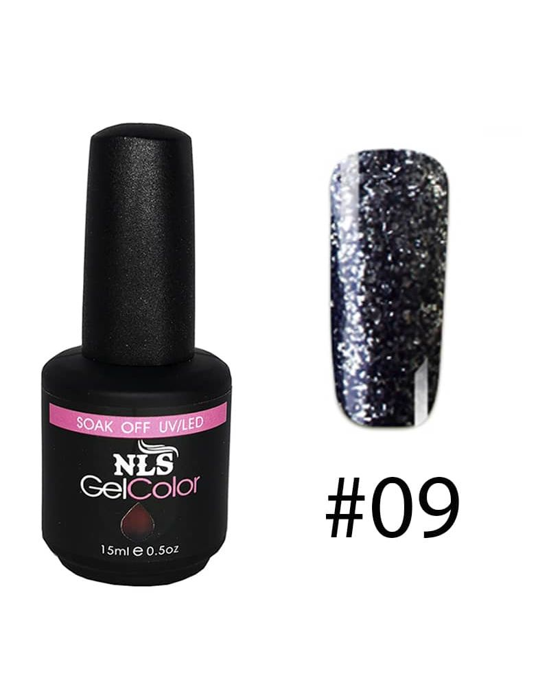 Vernis a ongles semi permanent Diamant serie #09