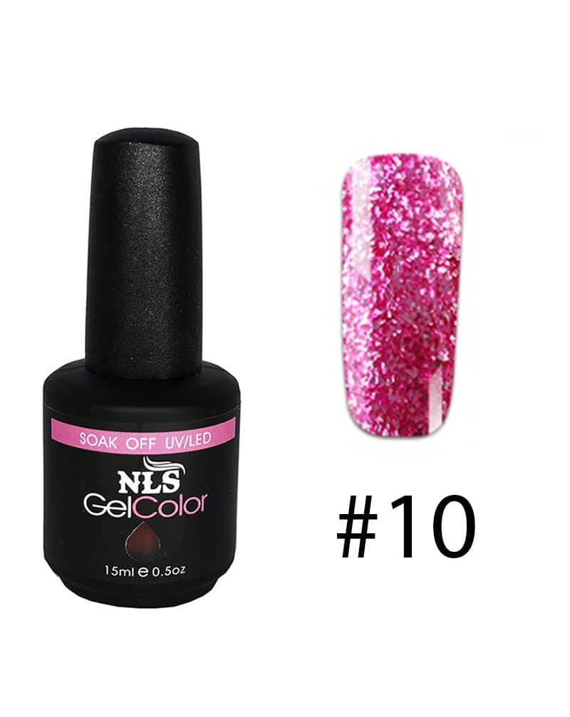 Vernis a ongles semi permanent Diamant serie #10