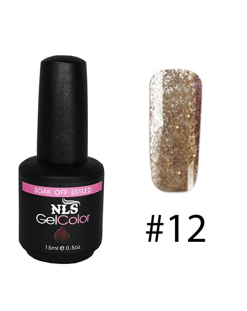 Vernis a ongles semi permanent Diamant serie #12