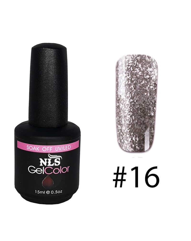 Vernis a ongles semi permanent Diamant serie #16
