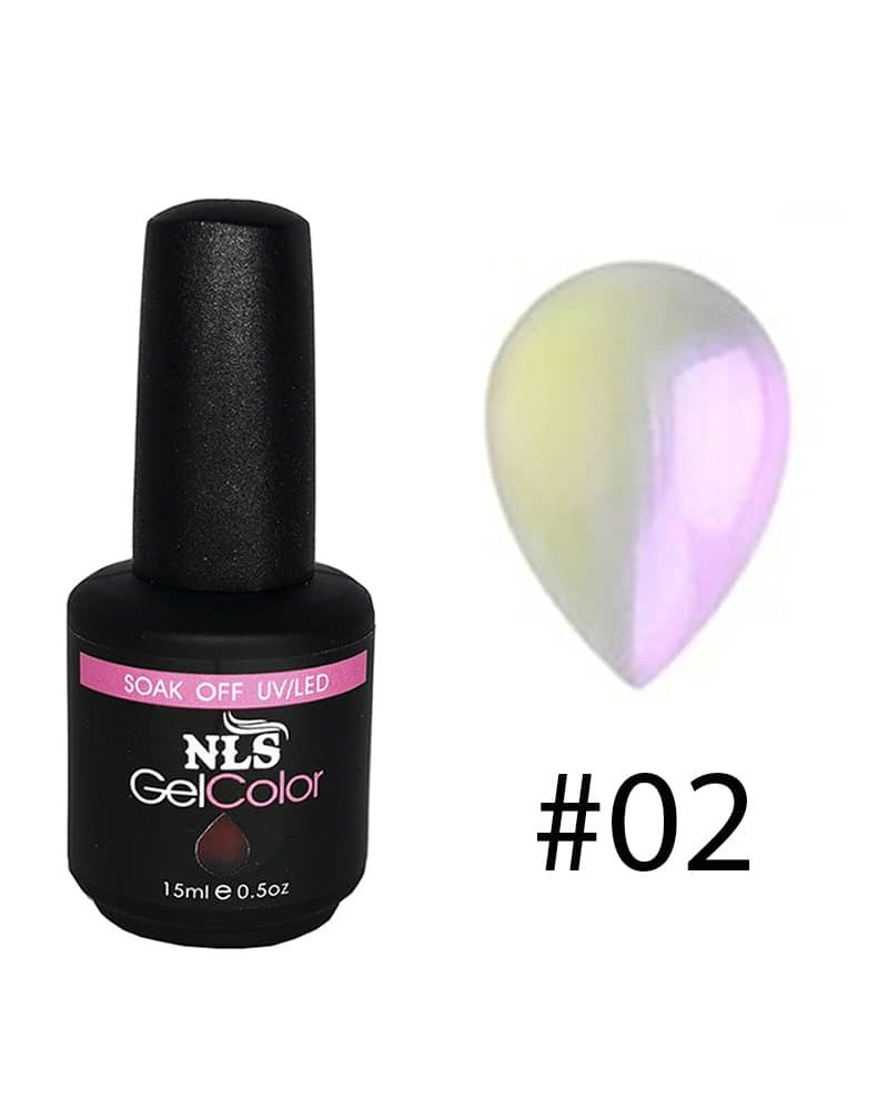 Vernis a ongles semi permanent Shell serie #02