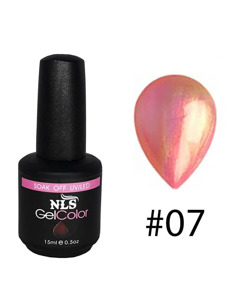 Vernis a ongles semi permanent Shell serie #07