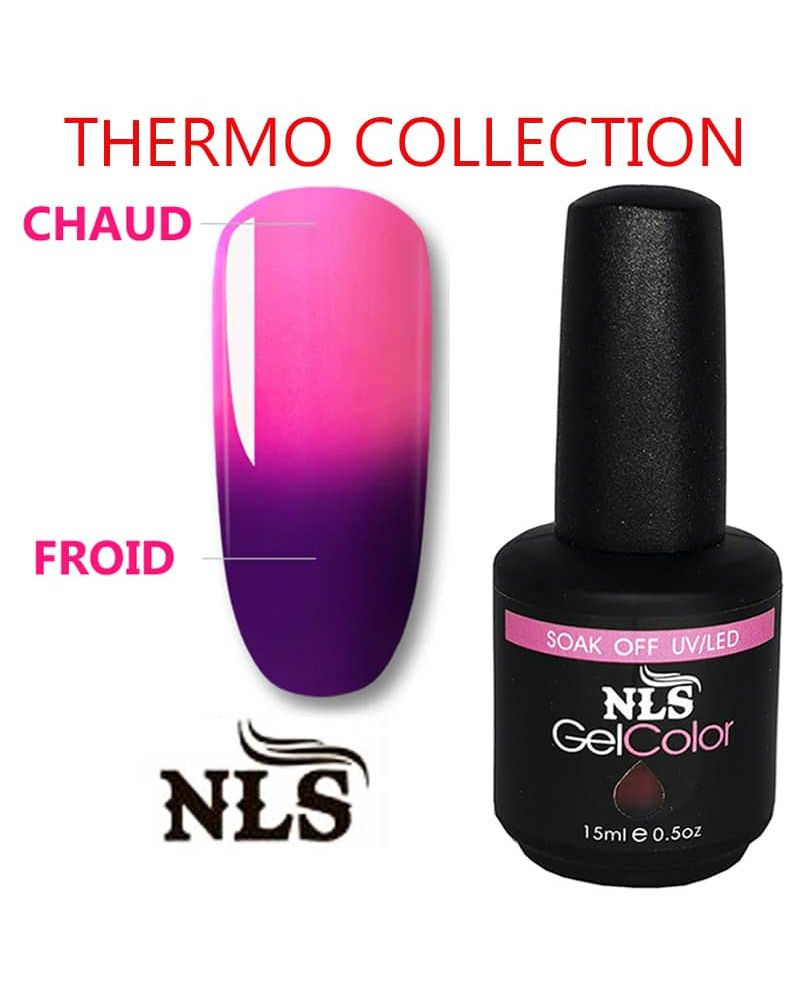 Vernis semi permanent Thermo serie. 21 couleurs