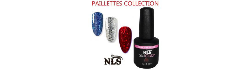 Vernis semi permanent Paillettes
