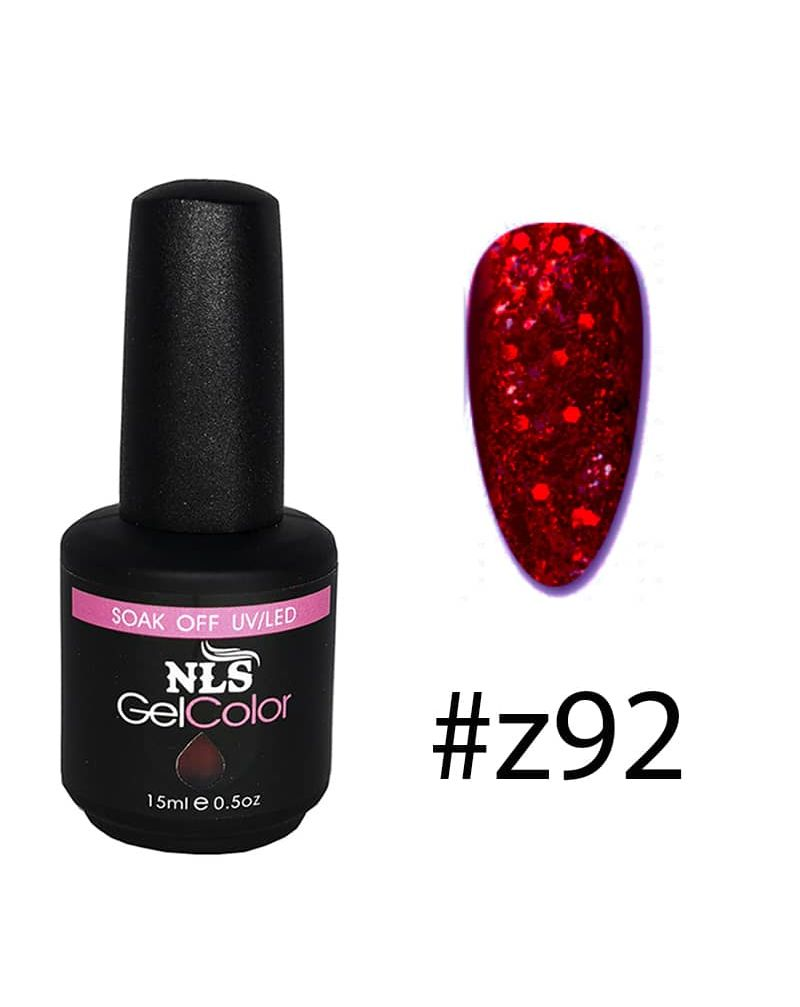 Vernis semi permanent Sparkling red