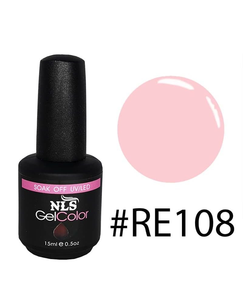 Vernis semi permanent Rose Transparent